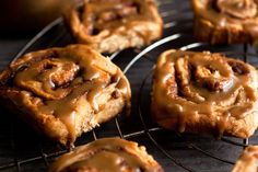 Butterscotch-Glazed Cinnamon Rolls