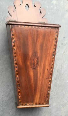 Fabulous Condition To Have A Unique National Style Edwardian (1901-1910) Antiques Honest Antique Mahogany Miniature Cabinet Jewellery Box