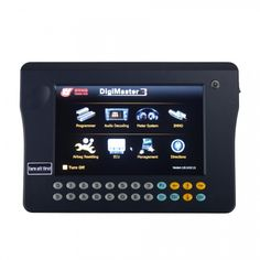 Original Yanhua Digimaster 3 Odometer Correction Master No Token Limitation Update Online Get CAS4 1. It works with various types of adapter you can easily achieve odometer correction, Audio decoding, airbag resetting, engine ECU resetting, IMMO, programming key for Benz &BMW etc 2. CAS4+ CPU 1N35H read and write function for BMW year after 2014 3. Update: Online Update