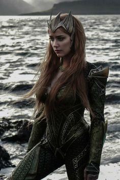 Amber Heard as Mera - Aquaman Gal Gadot, Aquaman Film, Aquaman 2018, Actrices Hollywood, Marvel Dc Comics, Celebs, Celebrities, Hollywood Actresses, Beauty Women