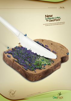 Ecofriendly Disposables GeoPack: Knife