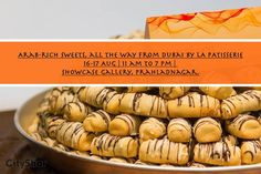 Arab-rich sweets, all the way from Dubai by LA PATISSERIE #Chocolates #Sweets #LAPATISSERIE #Dubai
