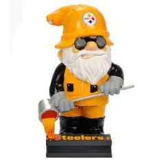 Pittsburgh Steelers Steelworker Gnome