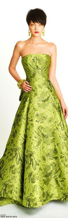 Lemon-Lime Gown