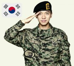 Lee Seung Gi is a part of the Korean Military. Such a soldier! Korean Tv Shows, Korean Actors, Lee Seung Gi, Lee Joon, The King 2 Hearts, Yeon Woo Jin, Korean Military, Jung Il Woo, Asian Men
