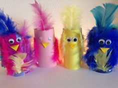 Cute birds with feathers Easy toddler craft in spring Spring, Crafts with children . Cute birds with feathers Easy toddler craft in spring Spring, handicrafts with children Cute birds, toilet pa Feather Crafts, Bird Crafts, Tree Crafts, Thanksgiving Crafts For Toddlers, Easy Toddler Crafts, Easy Halloween Crafts, Toilet Paper Roll Crafts, Cute Birds, Valentine Day Crafts