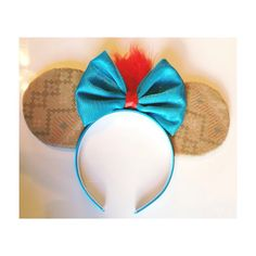 Pocahontas Mouse Ears  by ShopHouseOfMouse on Etsy