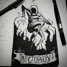 Phobia of the dark, night / Phobie du noir, de la nuit By artist : Shawn Coss Creepy Drawings, Dark Art Drawings, Creepy Art, Scared Of The Dark, Fear Of The Dark, Dark Art Illustrations, Illustration Art, Princesas Disney Zombie, Art Sinistre