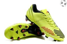 san francisco b23e7 65831 Chaussure de foot adidas predator lz TRX FG Vert Noir Rouge FT1758