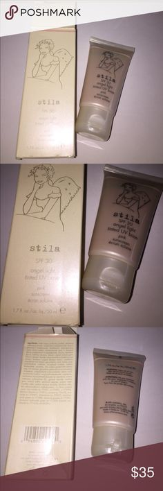 Stila Angel Light BNIB Tinted UV Base SPF 30 Stila Angel Light BNIB Tinted UV Base SPF 30, brand Stila. Brand new, never used nor tested. No low ball offers please. No trades. Save when you bundle! MAC Cosmetics Makeup Face Primer