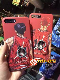 スラムダンクiphone7ケース SLAMDUNKアイフォン7plus保護カバーi6spマット素材NBA Jordan