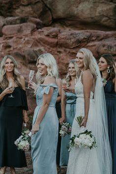 Seaside Bridal Party