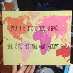 Made this custom for someone!! #travel #canvas #art