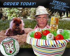 A Collectibles' Caddyshack Bushwood Judge Smails Special Hat Gift Basket       The Judge Smails Special includes:           1 - Judge Smails Fedora (one size fits most)     3 - White colored Bushwood logo golf balls (Wilson Elite)     3 - Orange colored Bushwood logo golf balls (Wilson Smart Core)     6 - Naked lady tees