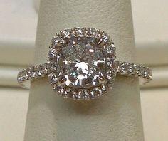 le diamant de centre de coussin de halo de 2 carats pavent l'anneau de diamant-Anneaux-Id du produit:125908225-french.alibaba.com