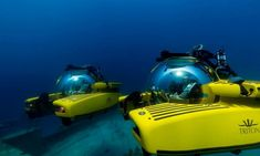 Blue Planet gives super-rich their new toys – submersibles Pillars Of Hercules, David Attenborough, Richard Branson, Super Yachts, Polo Club, Grace Kelly, New Toys, Atlantis, Discovery