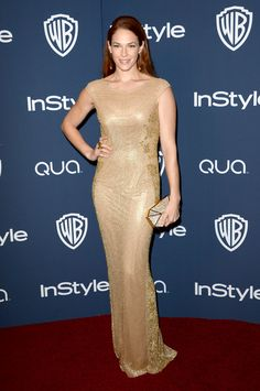 Amanda Righetti - 2014 InStyle and Warner Bros. Golden Globe Awards Post-Party (Jan. 12)