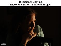 Directional Lighting - Form and Volume: elements of visual design, part 3   Boost Your Photography