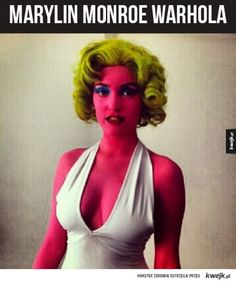 Lots of inspiration, diy & makeup tutorials and all accessories you need to create your own DIY Marilyn Monroe Pop Art Costume for Halloween. Marilyn Monroe Halloween Costume, Pop Art Halloween Costume, Halloween Kunst, Art Costume, Creative Halloween Costumes, Cool Costumes, Costumes For Women, Costume Ideas, Halloween Makeup