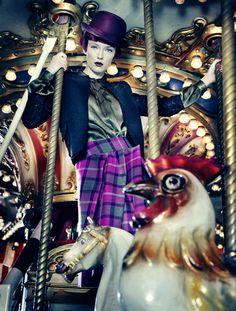 Fairground Fashion  by SUSANNE STEMMER