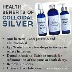 The best nano colloidal silver on the market. Read about the top colloidal silver benefits here. Health And Wellbeing, Health And Nutrition, Health Benefits, Alternative Health, Alternative Medicine, Natural Medicine, Herbal Medicine, Natural Cures, Natural Healing