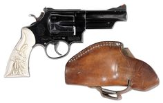 Elmer Keith's Personal Sidearm and Holster