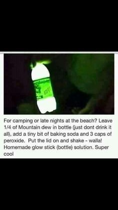DIY Glowstick