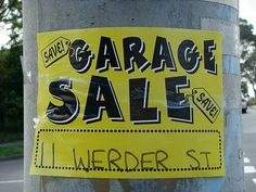 10 Tips For Having A Successful Garage Sale!