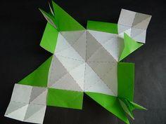 裁ち折り紙 折り鶴 (tachi origami ) | So-netブログ