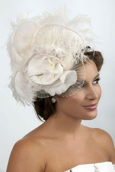 Viktoria Novak, bride, bridal, wedding, headpiece, millinery