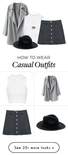 """Statement Coat"" by burtiva on Polyvore featuring Topshop and MANGO"