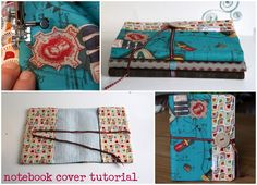 vervlogendagentutorials: Fabric covered notebook Tutorial