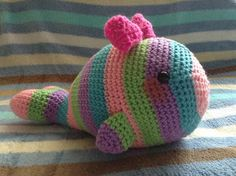 Free pattern: Tale of a Candy Whale | The Duchess' Hands