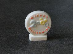 Fève de collection en céramique - Commémoration an 2000 : Cuisine créative par jl-bijoux-creation