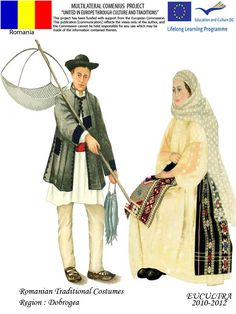 Romanian traditional clothes Traditional Clothes, Folk Art, Diy And Crafts, Nostalgia, Costumes, Popular, Folklore, Embroidery, Popular Art