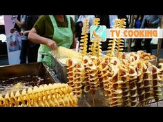 French Fried String Onions Recipe - Laura Vitale - Laura in the Kitchen Episode 665 - YouTube