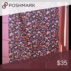 Bnwot size medium lularoe cassie skirt Brown background with beautiful flowers LuLaRoe Skirts Midi