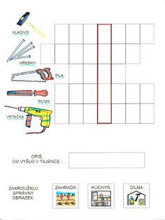 Pro Šíšu: Pracovní listy ČTEME PÍŠEME Preschool Worksheets, Chart, Map, Homeschooling, Autism, Location Map, Maps, Preschool Printables, Homeschool