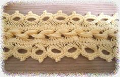 Hairpin lace                                                                                                                                                      More