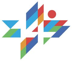Logo for the 14th Maccabiah Games, 1993. Dan Reisinger