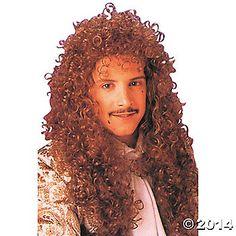 Wig Curly Extra Long Auburn