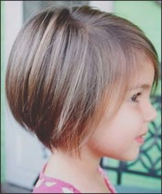 9 Best And Cute Bob Haircuts For Kids Hair Pinterest Little