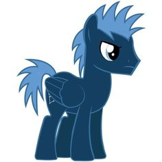 Cloud Kicker My Little Pony <3 ❤ liked on Polyvore featuring mlp