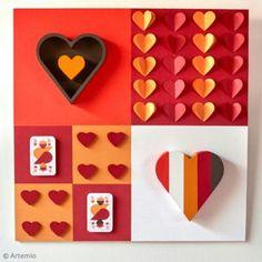 DIY San Valentín: Cuadro de cartas