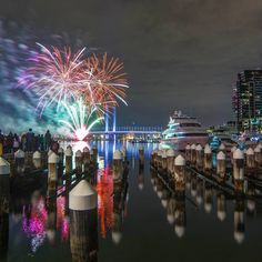 """City Of Melbourne on Instagram: """"Our July social media cover art is the #melbwinter fireworks"""""""