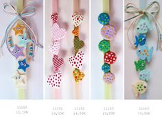 beautiful easter candles