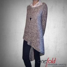 Knitwear, Pullover, Sweaters, Handmade, Jackets, How To Wear, Collection, Dresses, Fashion