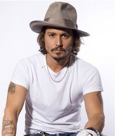 johnny depp, apparently he can act ;-)