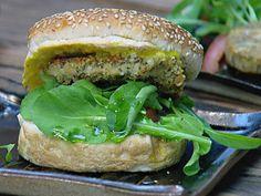 Hambúrguer de grão-de-bico | Receitas | FOX Life
