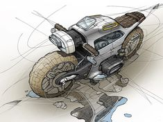56 ideas bike drawing sketches products for 2019 Cyberpunk, Bike Drawing, Bike Sketch, Motorbike Design, Concept Motorcycles, Industrial Design Sketch, Motorcycle Art, Motorcycle Types, Car Design Sketch